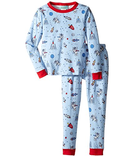 BedHead Kids Baby Boy's Long Sleeve Long Pants Set (Toddler/Little Kids) Occupy Mars Pajama Set