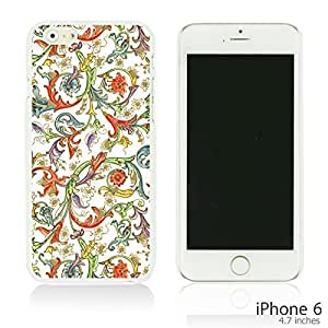 OnlineBestDigital - Fabric Pattern Hard Back Case for Apple iPhone 6 (4.7 inch)Smartphone - Colorful Floral Pattern