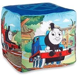 "Nickelodeon Mattel Thomas The Tank Engine Fun 12"" Kid's Square Ottoman"