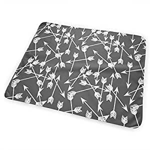 Amazon Com Hsji8 Arrows Scattered Grey Charcoal And White