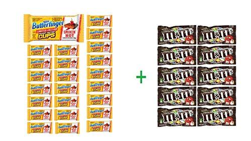 butterfinger-peanut-butter-cup-smoking-hot-24-15oz-10-pack-of-mm-milk-chocolate-169oz