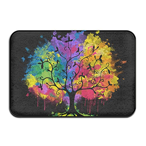 [MEGGE Ohm Tree Non Slip Door Mat] (Costumes Starting With L)
