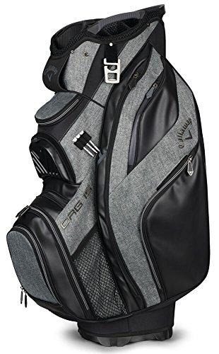 Cooler Golf Cart Callaway (Callaway Golf 2018 Org 15 Cart Bag, Black/ Titanium/ Silver)