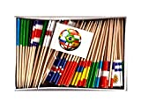 WORLD CUP 2018 SOCCER TOOTHPICK FLAGS%2D