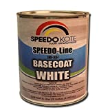 Base Coat White automotive base coat , One Gallon SMR-3684