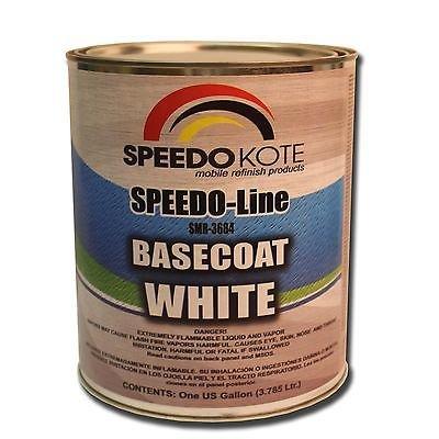 Base Coat White automotive base coat , One Gallon SMR-3684 by Speedokote