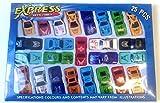 25 pcs. of kids small sports cars ,cars