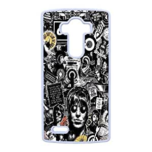 LG G4 Cell Phone Case White Oasis DY7684894