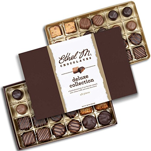 Ethel M Chocolates Deluxe Collection 48 piece