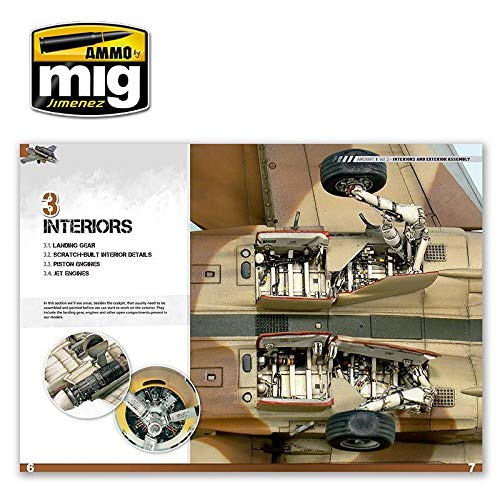 AMMO MIG JIMENEZ ENCYCLOPEDIA OF AIRCRAFT MODELLING TECHNIQUES VOL.2 - interiors and assembly A.MIG 6051