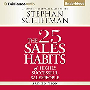 The 25 Sales Habits of Highly Successful Salespeople Audiobook