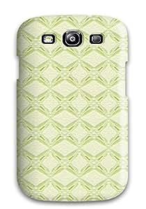 Durable Defender Case For Galaxy S3 Tpu Cover(pretty Diamonds Pattern )