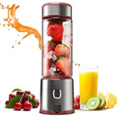 Tips: 1. When you first use this blender or after not use for a long time, please charge 3-5 hours until white light on. ★★★Note: If there is red light all the time, pls check turn on the safty cut-power switch before using or charging...