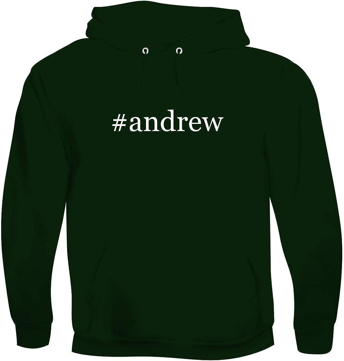 #andrew - Men's Hashtag Soft & Comfortable Hoodie Sweatshirt Pullover 51kAND0R0RL