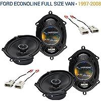 Ford Econoline Full Size Van 1997-2008 OEM Speaker Upgrade Harmony (2) R68 New