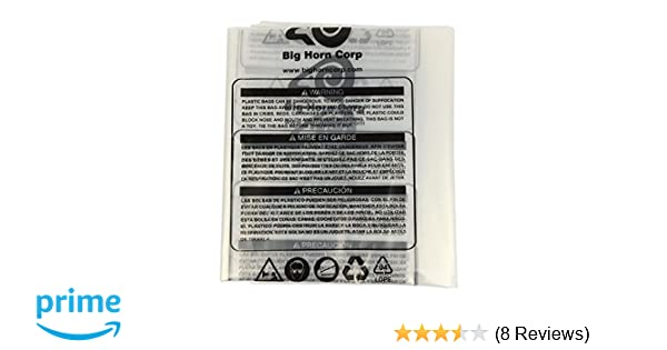 Big Horn 11785 Disposable Clear Plastic Dust Bags for Delta and Other 16-1/2-Inch Units, 5-Pack - Vacuum And Dust Collector Bags - Amazon.com