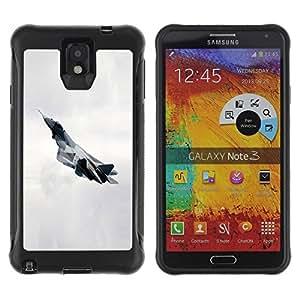 LASTONE PHONE CASE / Suave Silicona Caso Carcasa de Caucho Funda para Samsung Note 3 / T fighter
