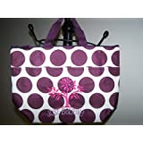 Thirty One Thermal Lunch Tote Plum Mod Dot