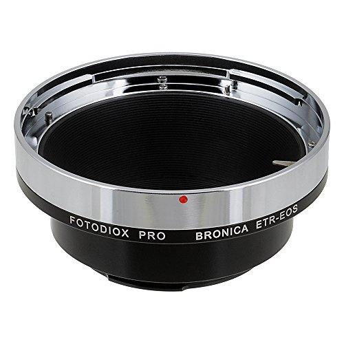 Fotodiox Pro Lens Mount Adapter - Bronica ETR Mount SLR Lenses to Canon EOS (EF, EF-S) Mount SLR Camera Body