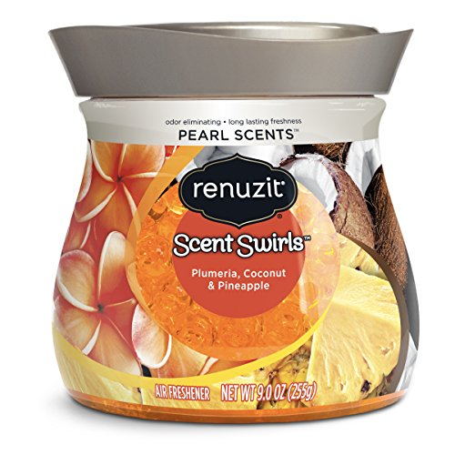 (Renuzit Pearl Scents Air Freshener Plumeria, Coconut & Pineapple, 9)