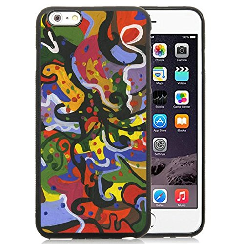 Price comparison product image iPhone 6 Plus Case, iPhone 6S Plus Case, BOTANG Abstract Case Cover for Apple iPhone 6 & 6S 5.5 B060 Black