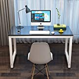 "computer workstation furniture Toolsempire 47"" Office Computer Desk PC Laptop Dining Table Study Writing Desk Workstation for Home Office Furniture (Black)"