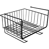 Shelf Storage Racks Pot Rack Storage Basket Shelf Baskets Oven Stand Kitchen Finishing Rack Separation Layer Hanging Basket Iron Art Storage Rack ZHAOYONGLI