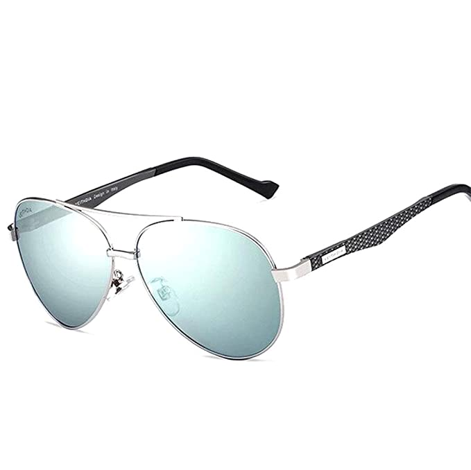 Amazon.com: veithdia 3850 Marco de metal polarizadas Aviator ...