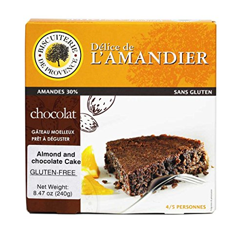 Biscuiterie de Provence - Flourless French Almond and Chocolate Cake, Gluten-Free, 8.47 Ounce (240 Grams) (The Best Flourless Chocolate Cake)