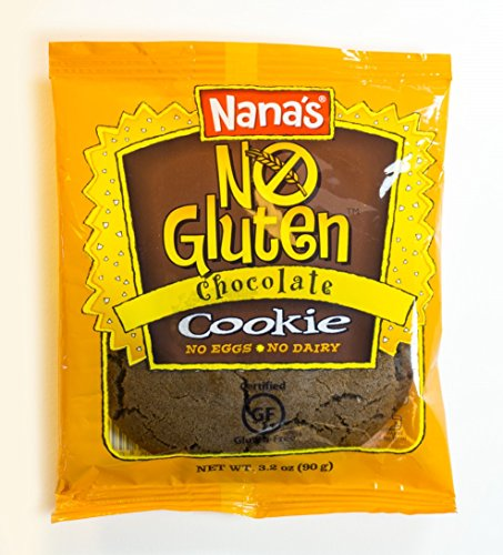 - Nana's No Gluten Chocolate Cookies, 3.2-Ounce Packages (Pack of 12)