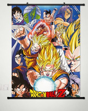 Wall Scroll Poster Fabric Painting For Anime Dragon Ball Z K