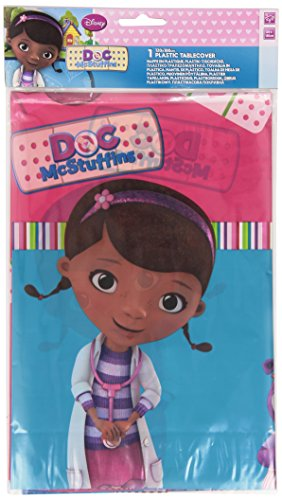 Plastic Disney Doc McStuffins Tablecloth, 1.8m x 1.2m ()