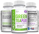 Green Tea Extract with EGCG – Weight Loss Support – Healthy Heart, Metabolism, Energy Formula – Natural Fat Burner – 60 Capsules