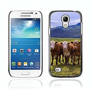 Carcasa Funda Case // Cow V0000097 // Samsung Galaxy S4 MINI i9190 i9192 i9195