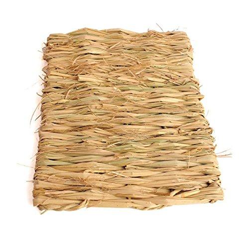[Da.Wa 100% Natural Pasture Weaving Small Pet Dogs Cats Rabbit Mat Straw Mattress] (Wa Mat)