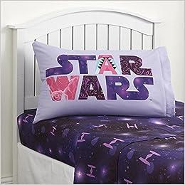 Star Wars Sheet Set Twin Size 3 Piece Microfiber Kids Bedding Set