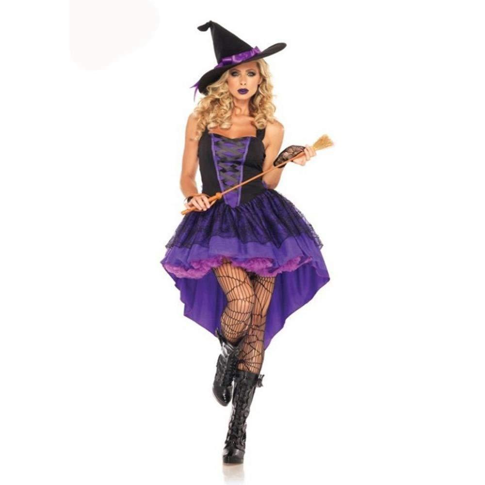 Shisky Cosplay kostüm Damen, Halloween-Kostüm Cosplay Hexe Kostüm Anime Hexe Rolle Spielen Anime Kostüm Kostüm Party Kostüm 4a8b3f