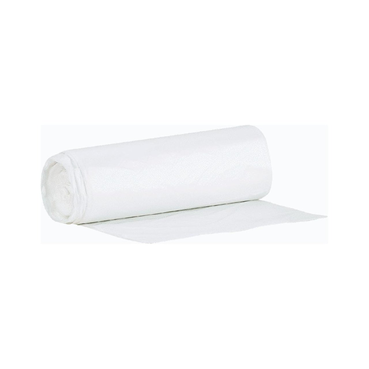 30' x 36' High-Density Can Liner with 13 Micron Equivalent in Clear
