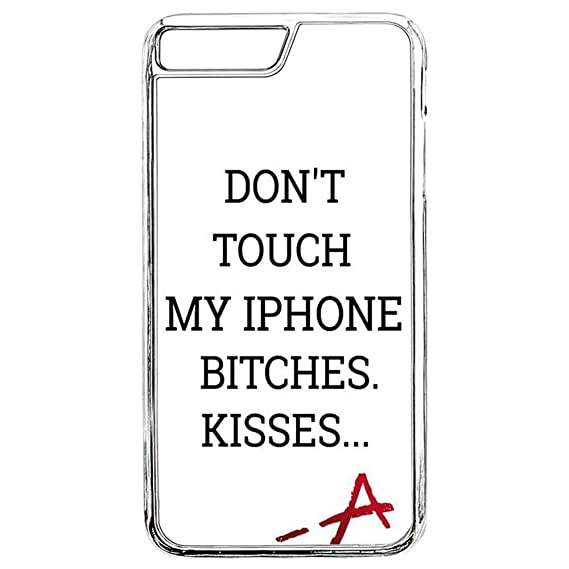 Amazon Case IPhone 60 PlusiPhone 60 Plus Back CaseDon't Touch Adorable Cell Phone Quotes