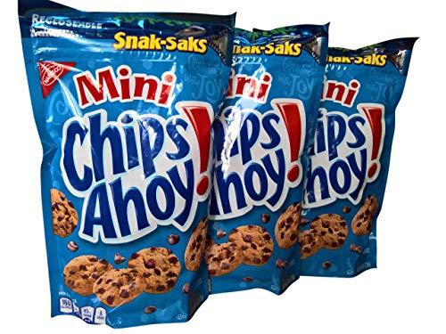 Chips Ahoy! Mini Chocolate Chip Cookies - Snack-Sak (3 Saks)