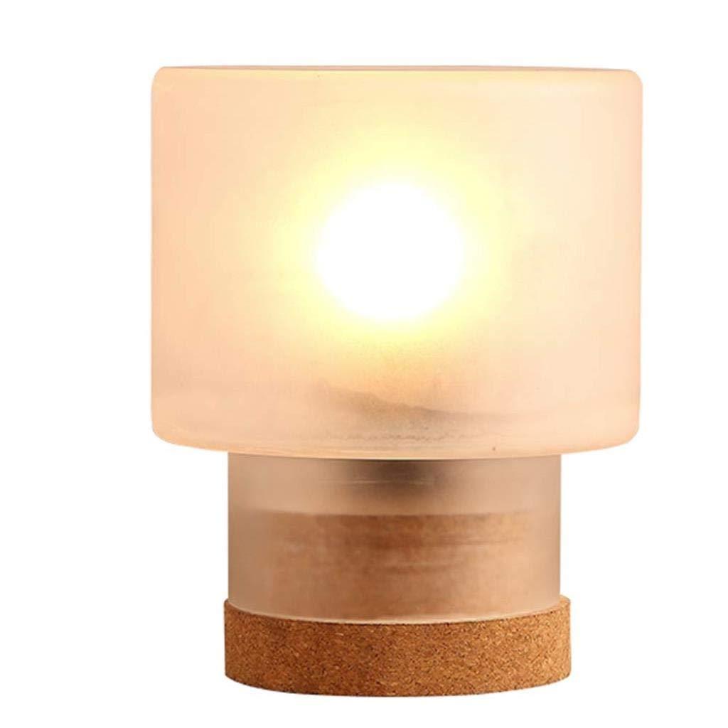 デスクランプランプ室内照明ベッドサイドデスクランプテーブルランプクリエイティブガラスベッドサイドランプベッドルームデスクランプスタディ B07TXMQD6Q