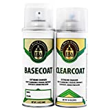 Automotive Spray Paint and Clearcoat - Nissan Serena 2005 (AX5 Merlot Pearl)
