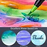 Professional Watercolor Brush Markers Pen 24 Colors