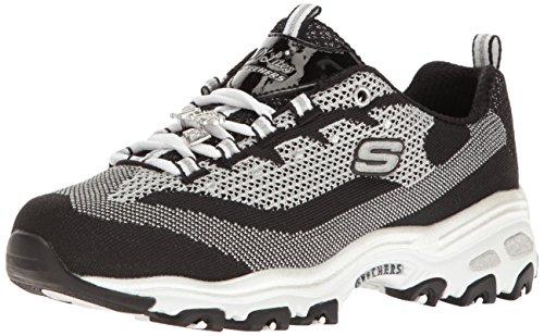 f41f1e265bc67 Skechers Sport Women's D'Lites Memory Foam Lace-up Sneaker