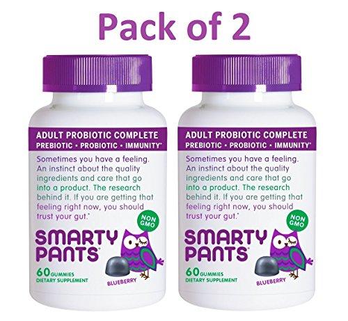 SmartyPants Probiotic Prebiotic Immunity Gummies product image