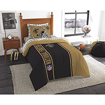 Charmant New Orleans Saints Bed In A Bag Set Bedding Shams NFL 5 Piece Twin Size 1
