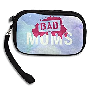 LHLKF Bad Mom New Design Wallet Clutch Bag With Zipper Closure