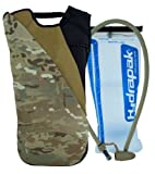 Code Alpha Chameleon Hydrapak Runner's Backpack with 3L Hydrapak Hydration System, Multicam