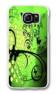 Butterflies 2 Custom Samsung Galaxy S6/Samsung S6 Case Cover Polycarbonate Transparent