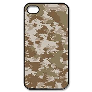 ALICASE Diy Customized hard Case Camouflage For Iphone 4/4s [Pattern-1] by lolosakes